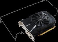 MSI GeForce GTX 1050 Ti AERO